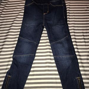 🌟💫Girls jeggings with zipper at ankle NWT